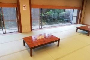 城崎温泉の外湯の休憩所