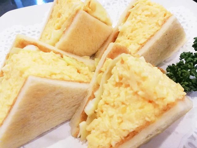 ルマンのエッグサンド