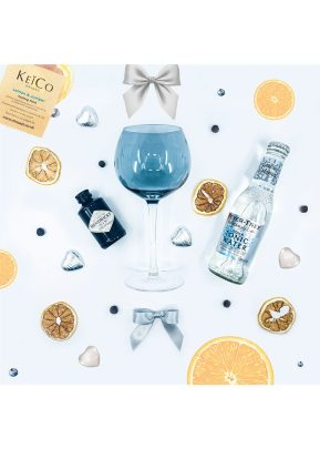 Hendrick's 5cl Gin | Fever-Tree Indian Tonic | Gin Glass Gift Set | KeiCo Drinks