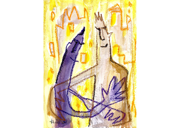 Gallery 2/ Psalm of the Old Testament in New Light – Modern Religious Painting