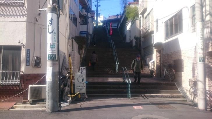 神田明神の階段