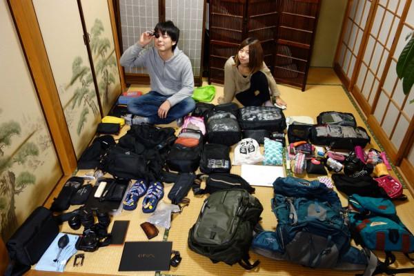 世界一周バックパッカーが500日間旅して活躍した旅の持ち物を紹介します。