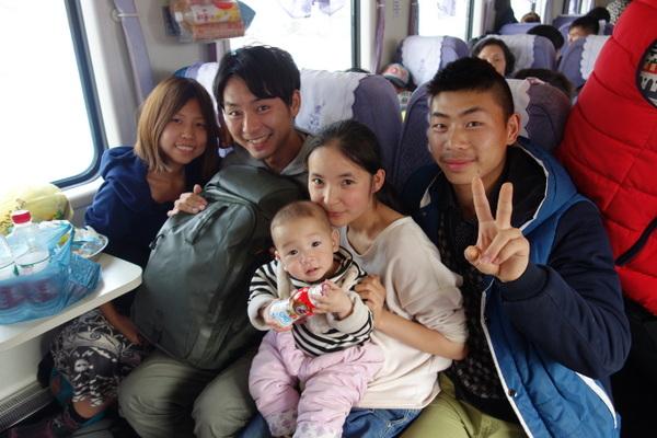 中国、最下位ランクの電車移動。