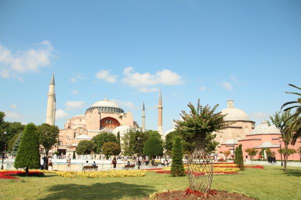 美食の街、イスタンブールへ到着!!