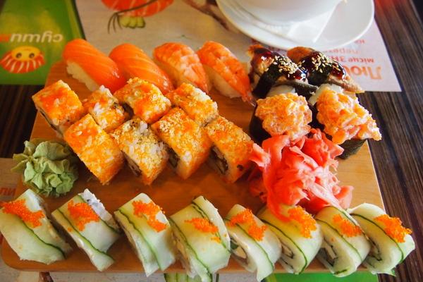ウクライナの寿司って美味しいの?どうなの?