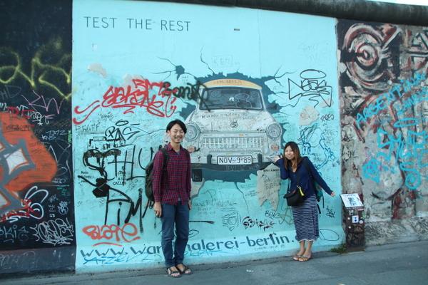 うちの壁に落書きしてくれませんか?はい、ベルリンです。