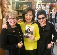 Kay with friends Bobbie Meltzer and Penny Fukui