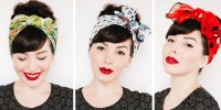 how to tie a head scarf 3 different ways with video tutorial