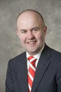 Bürgermeister Arno Brok (VVVD)