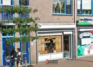 Dutch Gold Coffeeshop in Alphen am Rhein - Quelle: Google Street View