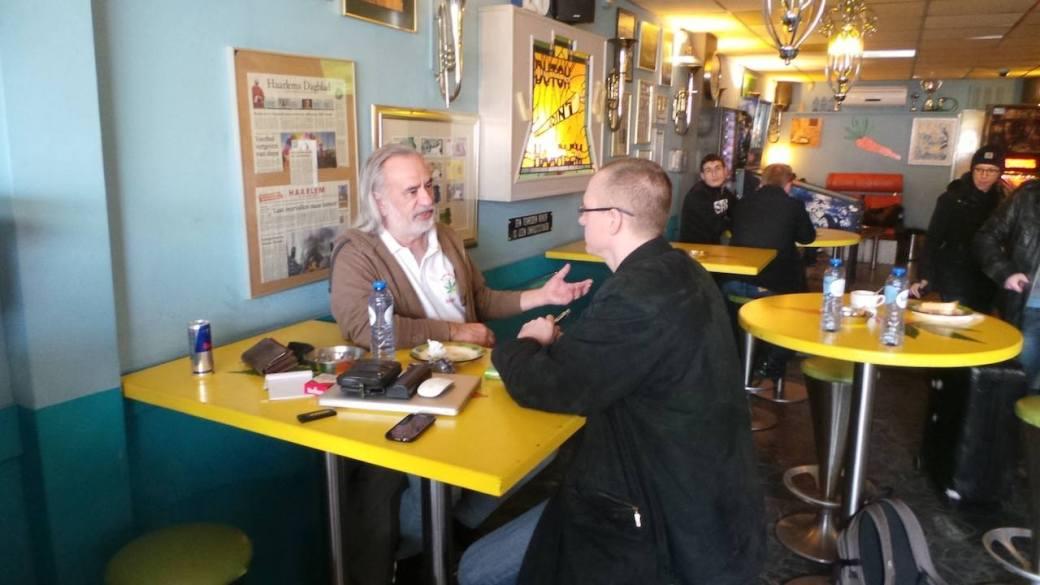 Wernard Bruining im Gespräch mit Georg Wurth