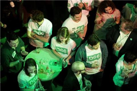 D66 Wahlparty