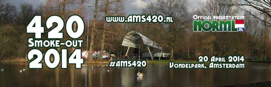 Unterstüzt uns, demonstriert und feiert mit uns auf dem AMS 420 Smoke-Out 2014