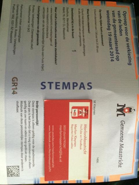 Stempas Maastricht