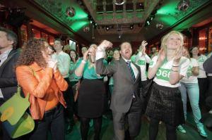 Wahlsieger D66 (Democraten 66)