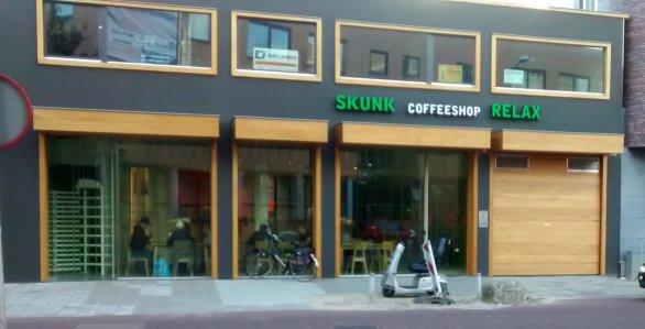 Das neue Gebäude der beiden Coffeeshops