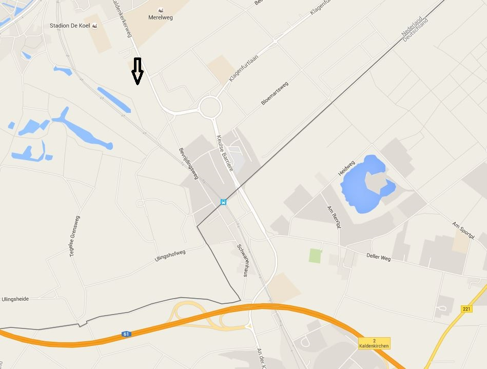 Angedachter Standort (quelle: Google Maps)