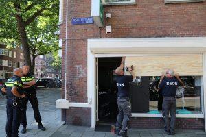 Der Shop wurde durch die Gemeinde geschlossen.