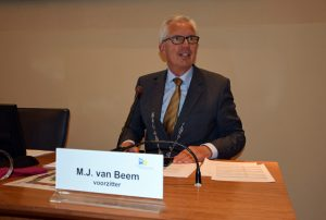 Bürgermeister Thijs van Beem
