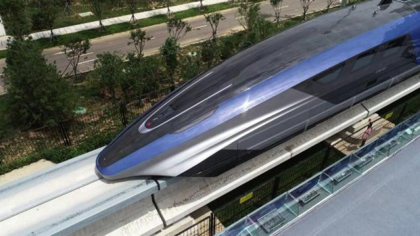 Application of neodymium magnet in high-speed maglev trains