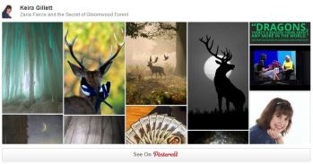 Zaria Fierce and the Secret of Gloomwood Forest on Pinterest