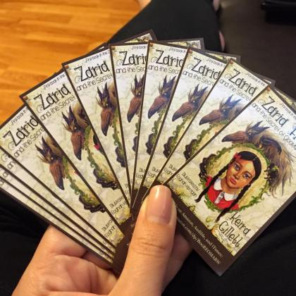 Zaria Fiercec Biz Cards front