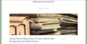 Blog Tour Stop: 8 Facts about Zaria Fierce