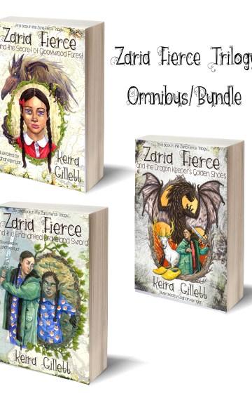 Zaria Fierce Trilogy Omnibus/Bundle