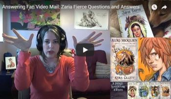 Video Response: Answering Nathan's Questions about the Zaria Fierce Series