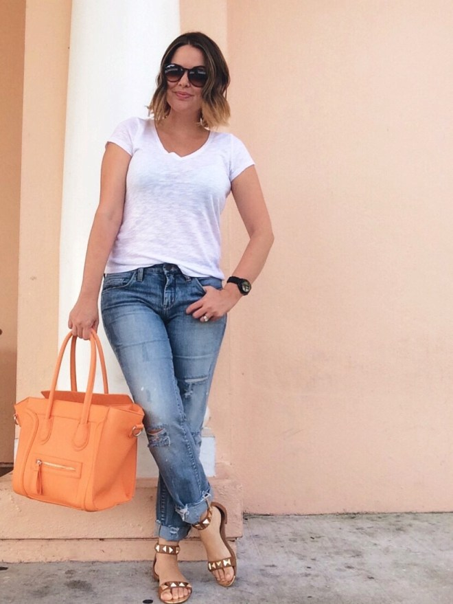 A Pretty Penny Blog Distressed Relaxed Fit Jeans Blank NYC Galaxy