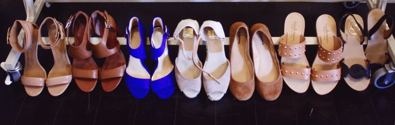 keiralennox.com: Summer Capsule Wardrobe 2016 Shoes