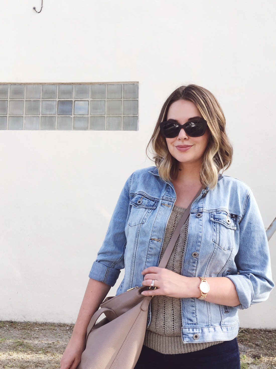 denim jacket with dark skinny jeans, ootd, style blogger