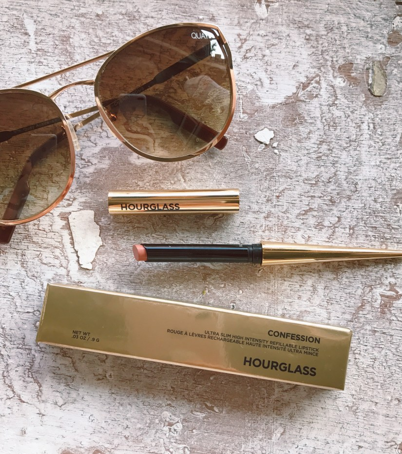 Hourglass Confession Ultra Slim Refillable Lipstick Review, Luxury Makeup
