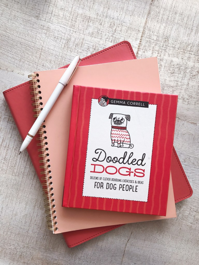 Doodled Dogs, Dozens of Clever Doodling Exercises & Ideas For Dog People, a book by Gemma Correll