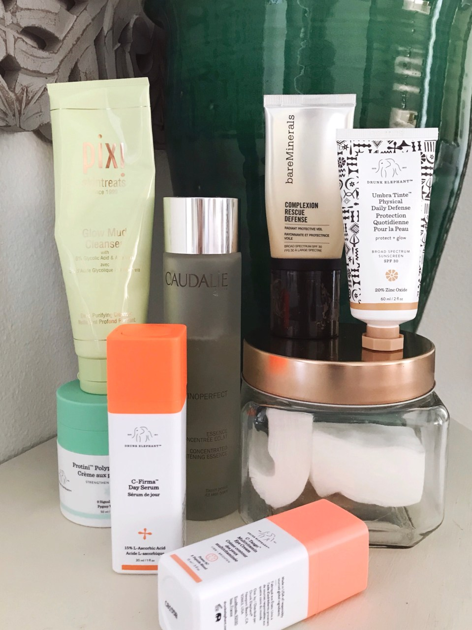 Morning Skin Care Routine Products