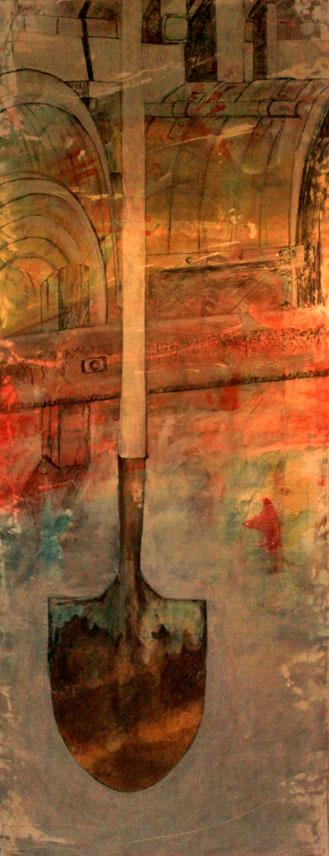 studio shot of the latest development with 'shovel', Jan 2013