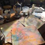 Conversation Pieces - morning painting on the apartment kist