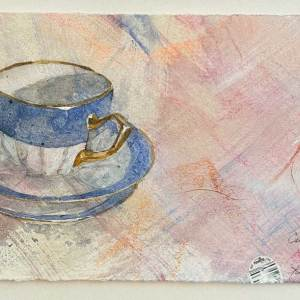 Cup, two Saucers from Conversation Pieces July 2021