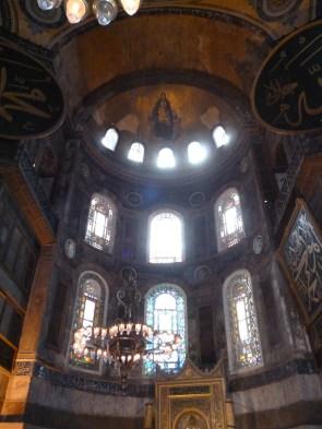 Madonna mosaic Haghia Sophia