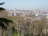 View of city (mosques) from Topkapi Palace