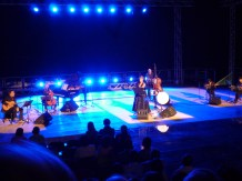 Tosca, and her accompanying musical quintet