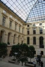 Courtyard in Richelieu wing