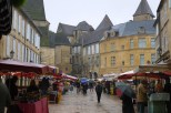Producers market at Sarlat