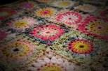 """Crochet """"Rose Garden"""" blanket"""