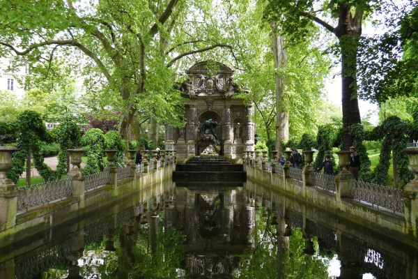 Jardin Du Luxembourg Paris Fountain