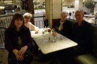 At Galvin Demoiselle Bistro (in Harrods) for lunch