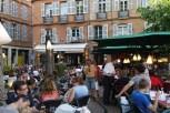 ambiance de la Place St Georges