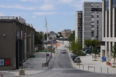 Work in progress on new Palais de Justice