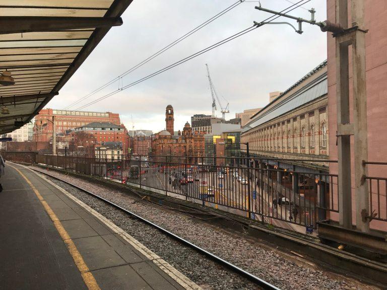 dworzec w Munchester