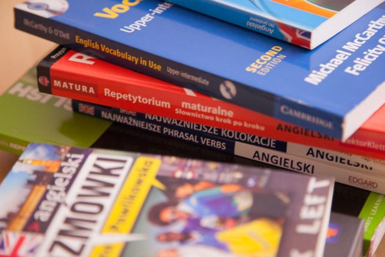 książki do nauki angielskiego